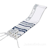 Tallit / Prayer Shawl - Peace Design