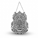 Torah Breastplate - Silver Torah Ornaments