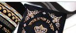 Talit bags, Velvet Tallis bags, Tallits, Judaica Embroidery & more.