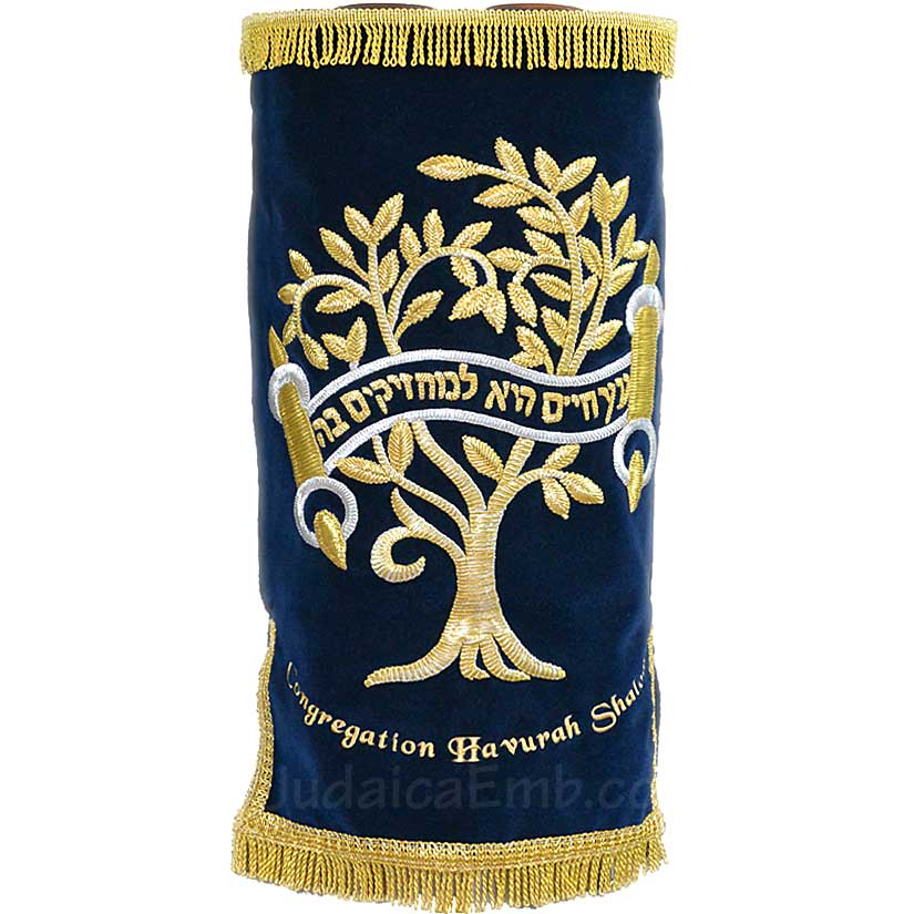 Torah Covers & Torah Mantles - Torah covers for for High Holidays and Year-round